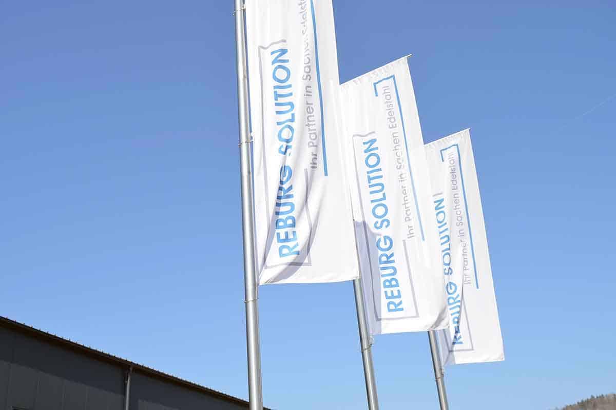 Reburg Solution GmbH | Fahnen